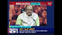 LIVE: Finance Minister Arun Jaitley Addresses BJP National Executive