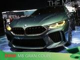 BMW M8 Gran Coupé en direct du salon de Genève 2018