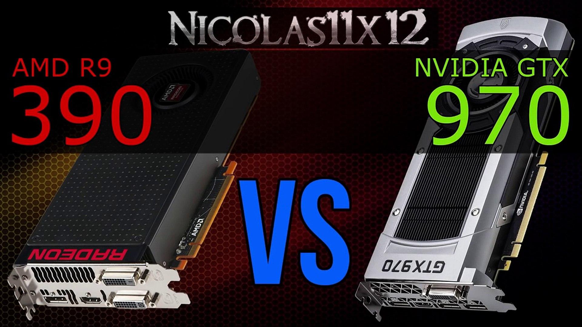 AMD R9 390 vs NVIDIA GTX 970