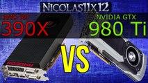 AMD R9 Nano vs R9 Fury (X) vs R9 390X - video dailymotion