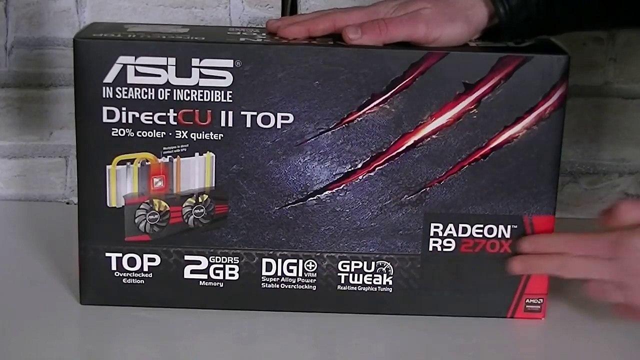 ASUS Radeon R9 270X DirectCU II TOP Review