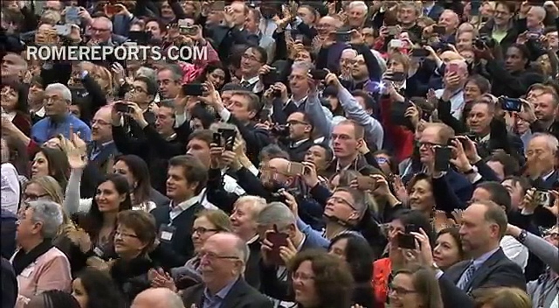 February 2017: the pope visits the University of Rome and goes to the Anglican parish