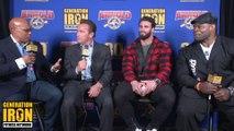 Shawn Ray & Kai Greene Interview Arnold Schwarzenegger & Calum Von Moger   Arnold Classic 2018