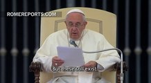 Pope condemns war, calls for arms trafficking and persecution of minorities to stop!