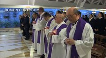 Pope Francis  God always forgives but asks us to forgive others too