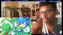 Mario VS Sonic DEATH BATTLE ScrewAttack REACTION!