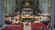 Consistory has surprise guest: Benedict XVI!