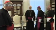 Pope Francis welcomes Austrian bishops for ad limina visit