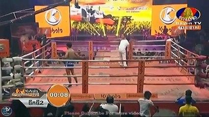 Khmer Boxing, Pich Mtes Khmang vs Thai, Bayon Boxing, 07 January 2018