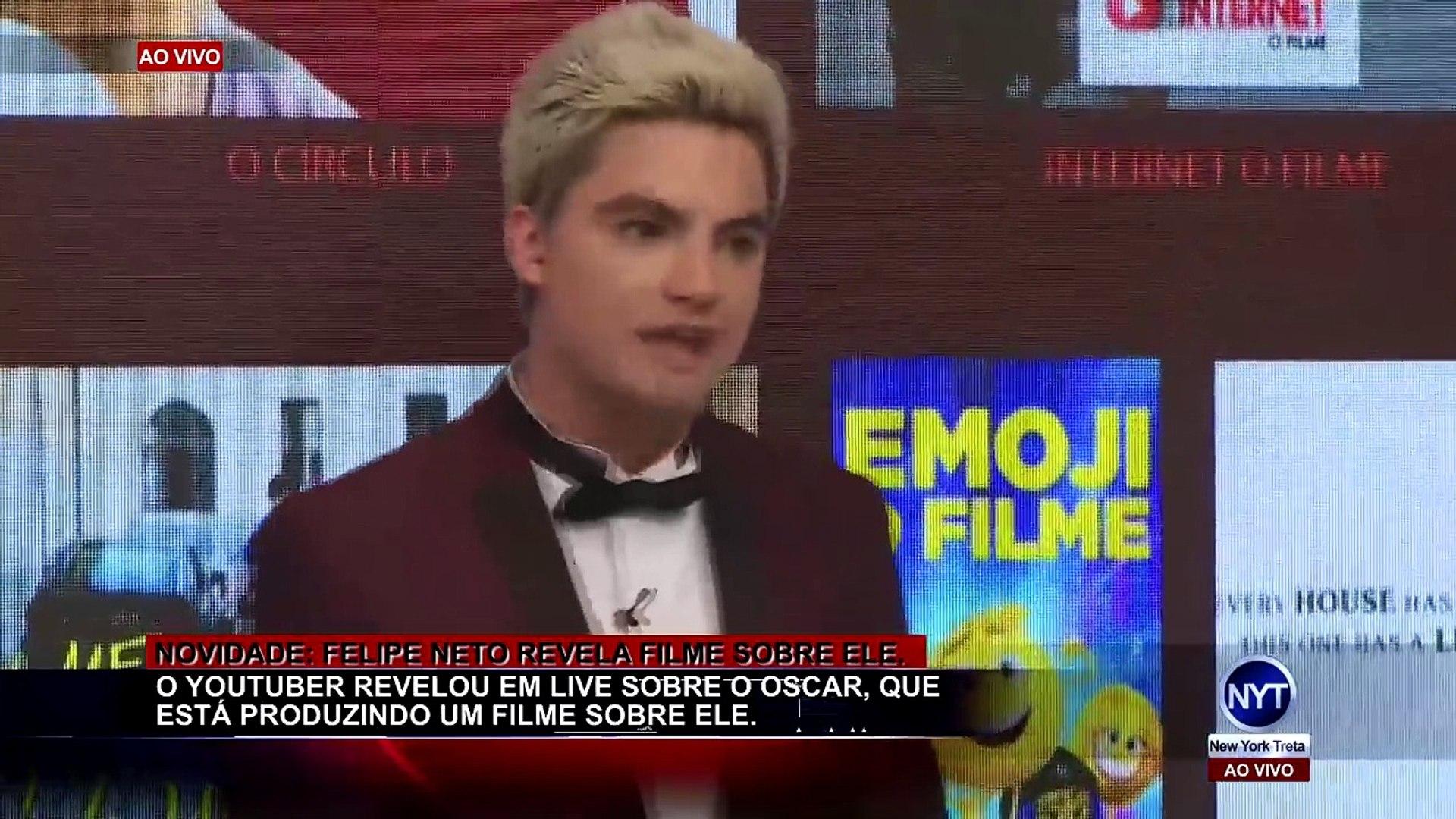 Felipe Neto é PROCESSADO novamente e revela em live que fará UM FILME sobre ele