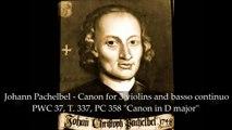 Johann Pachelbel - Canon in D major Pachelbels canon - Classical Music Romantic Violin