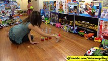 Awesome Toys! Little Tikes Bowling Play Set Playtime with Mommy Rhea and Maya
