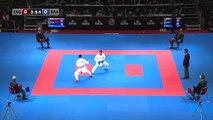 FIGUEIRA vs THOMAS. Bronze Medal. Male Kumite -67kg. new World Karate Championships