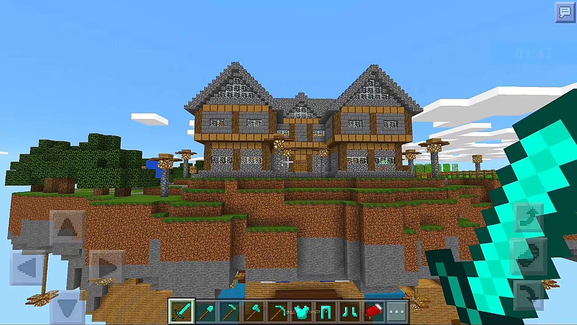 Mira Esta increible Construcción | Minecraft PE 0 15 6