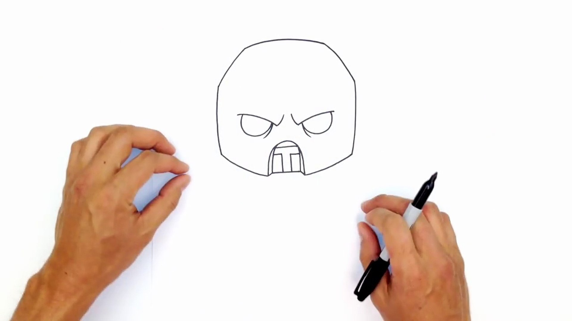 How To Draw Scorpion Mortal Kombat Video Dailymotion