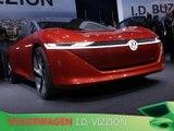 Volkswagen I.D. Vizzion en direct du salon de Genève 2018