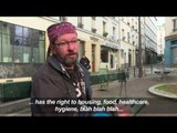 French homeless man takes Twitter by storm