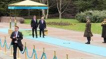 Başbakan Yıldırım, KKTC Başbakanı Erhürman'ı resmi törenle karşıladı - ANKARA