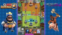 Clash Royale - Best Arena 4 & Arena 5 Deck and Strategy with Hog Rider! Get to Arena 7 Fast!