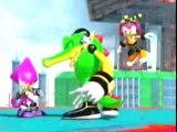 Sonic Heroes- Team Dark- Clash Against Team Chaotix