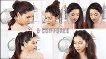 5 Coiffures Express pour tous les jours   Coiffures faciles à faire soi-même   easy hairstyles