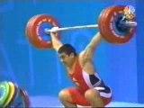 Haltéro jeux olympiques Athènes 2004 -94kg homme