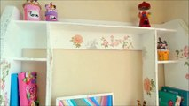 DIY crafts: How to make a cardboard furniture for computer tutorial - handmade - Youtube - Isa ❤️