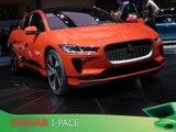 Jaguar I-Pace en direct du salon de Genève 2018