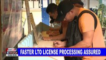 Faster LTO license processing assured