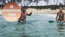 As férias perfeitas da família Hemsworth