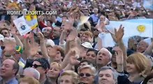 Pope Francis popularity draws packed crowds to his public events