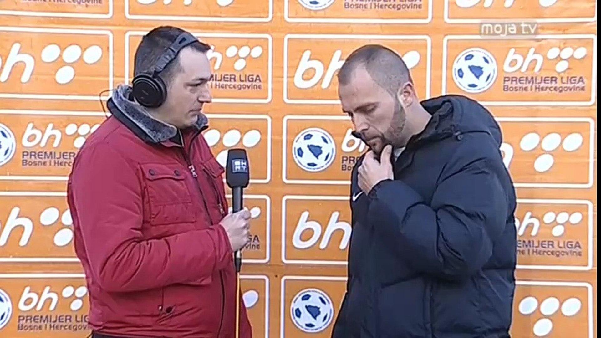 FK Sarajevo - FK Sloboda 0:0 / Izjava Ćosića