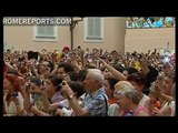 Pope greets youths who will attend World Youth Day Madrid 2011