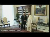Pope tells Mahmoud Abbas, Palestine has the right to become an independent State