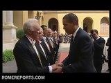 Barack Obama receives Nobel Peace Prize 2009