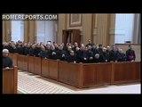 Benedict XVI meets with Roman priests