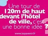 Une tour au centre ville d'Issy-les-Moulineaux ?