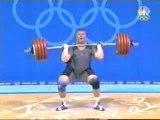 Haltéro jeux olympiques Athènes 2004 +105kg homme part 3