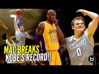 They Dbl & Triple Teamed Mac McClung ALL Game.. Mac Responds by Breaking KOBE'S RECORD!!