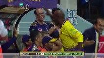 Multan Sultans Fall Of Wickets- Quetta Gladiators Vs Multan Sultans- Match 17 - 7th Mar-HBL PSL 2018