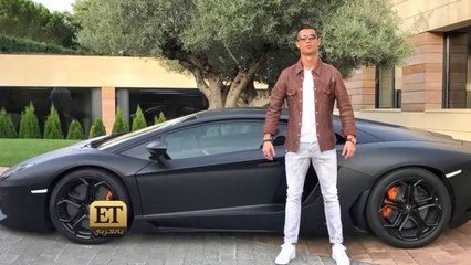 كم سيارة يملكها كريستيانو رونالدو؟