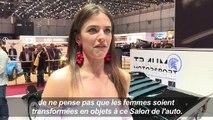 Genève: les hôtesses disparaissent des stands du Salon de l'auto