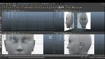 Maya Modelling Human Head Tutorial part 1