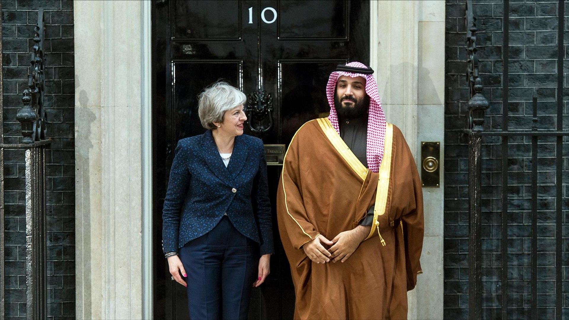 ابن سلمان يصل لندن وسط انتقادات سياسية وحقوقية