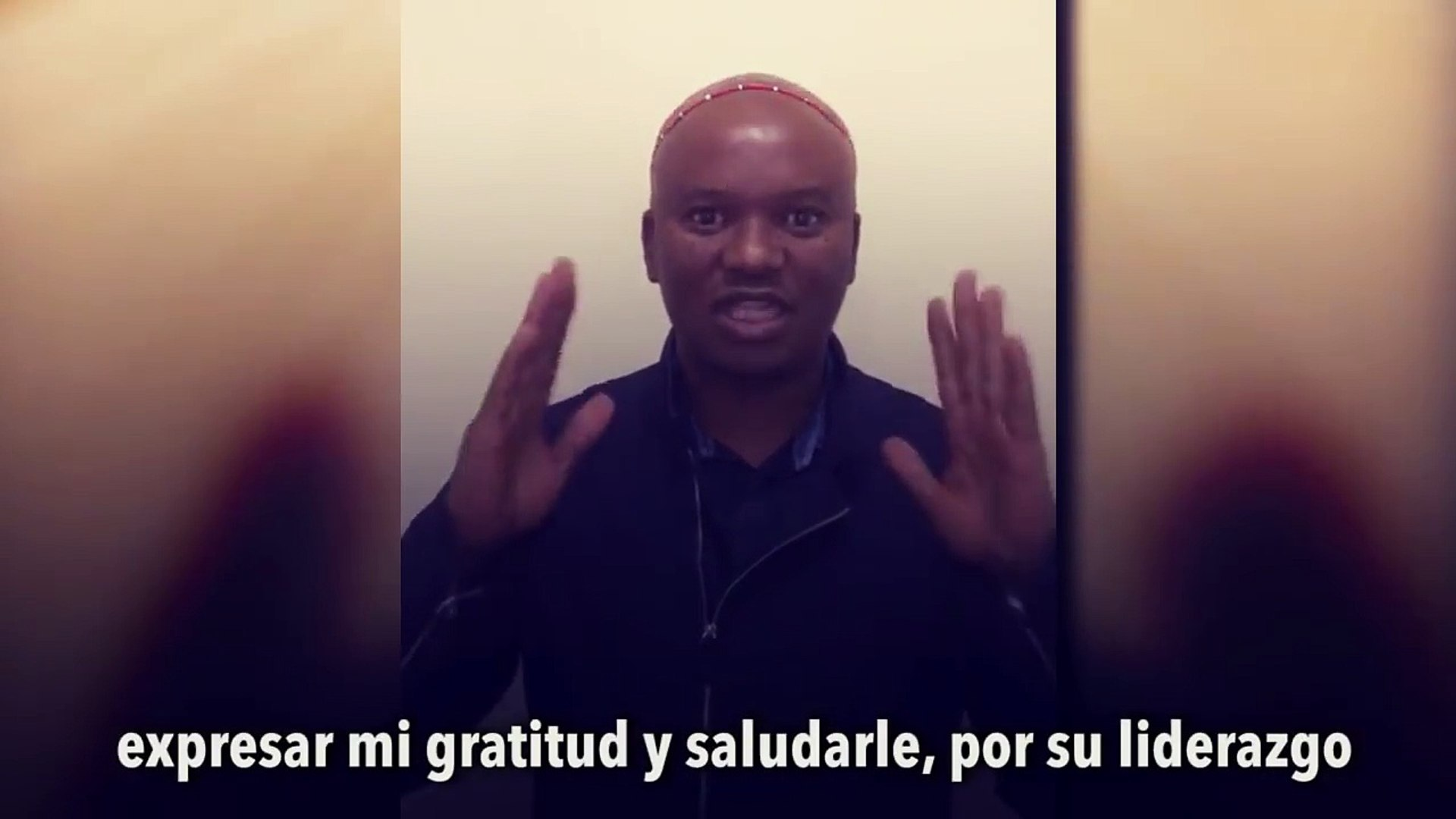 Message from South Africa to the Venezuelan government and people