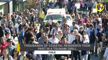 In 60 Seconds:  Chilean Coastal Residents Took Part In Tsunami Drill