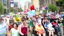 The Daily Brief: Hundreds Of Bernie Sanders Supporters Protest Outside DNC