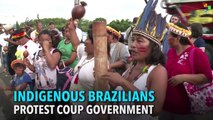 Indigenous Brazilians Protest the Coup-imposed Government of Michel Temer