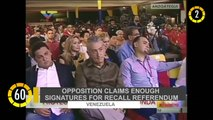 In 60 Seconds:  Opposition Claims Enough Signatures for Recall Referendum