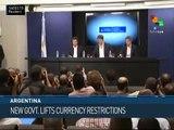 Argentina: Macri Lifts Currency Controls, Devalues Peso